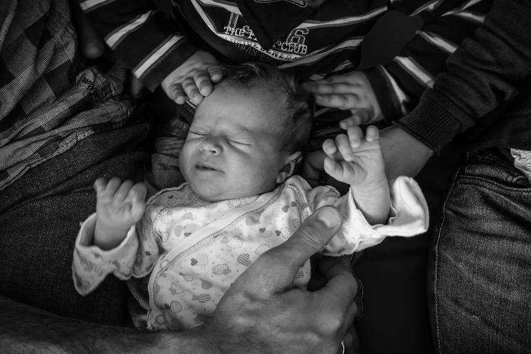 Munich newborn documentary photography