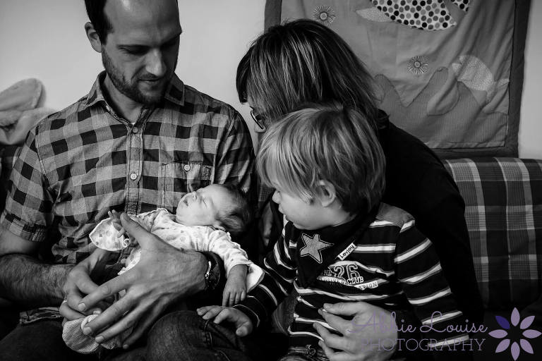 Newborn Munich Documentary Family Photography English