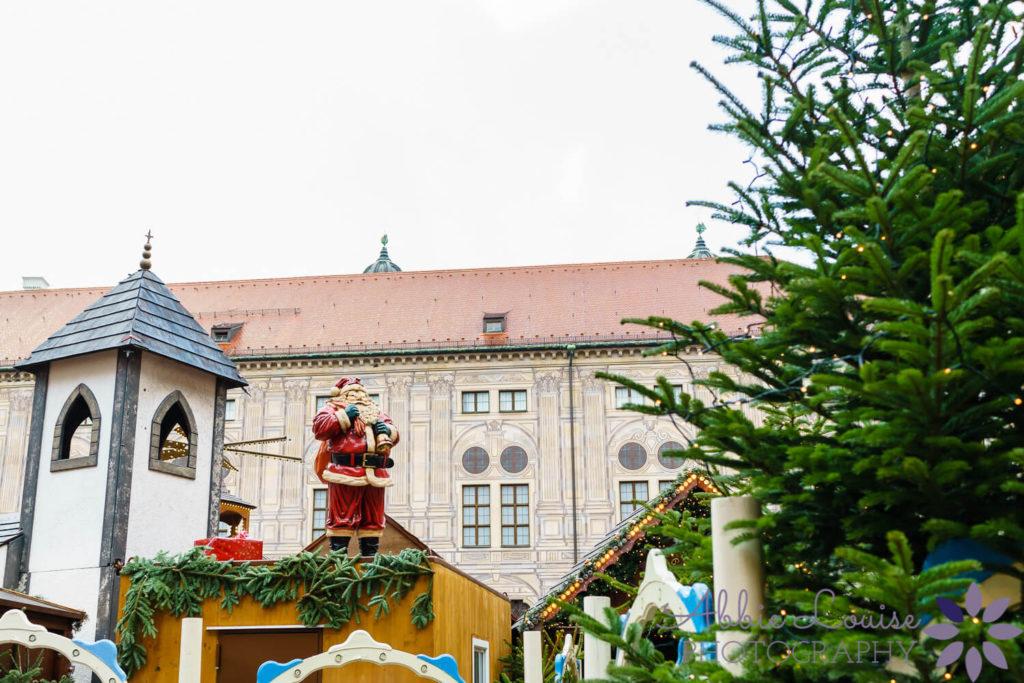 scene from a Munich Christmas Market