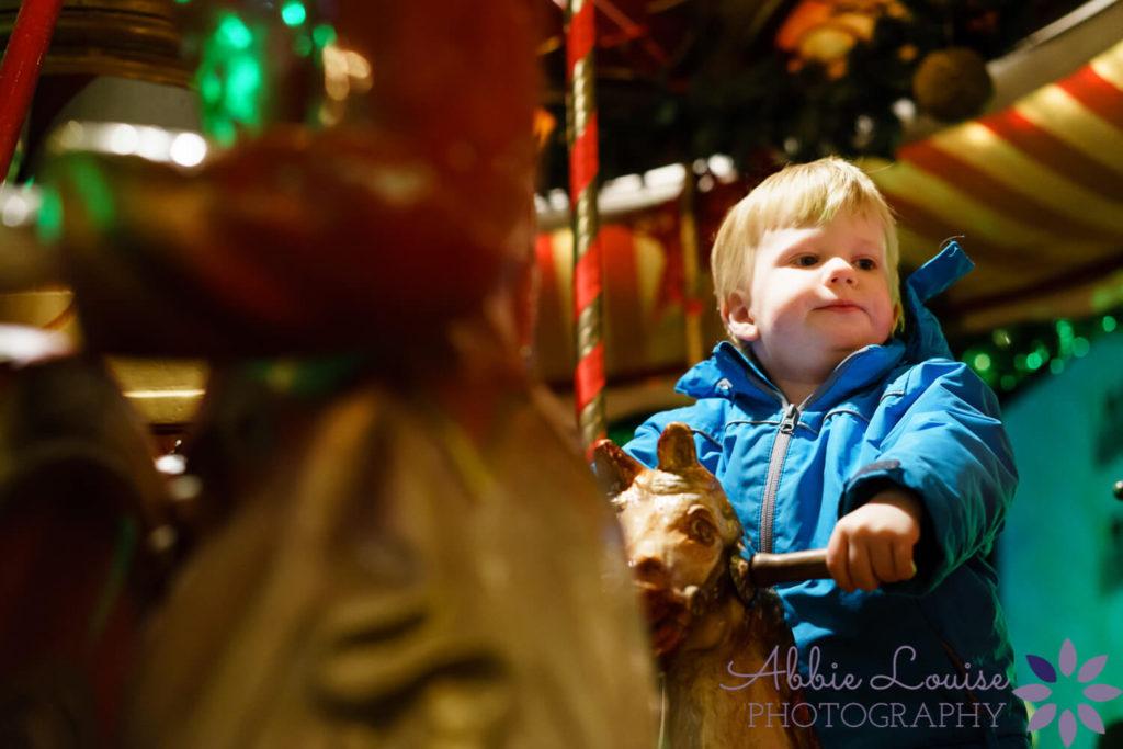 Munich kids at a Munich Christmas market